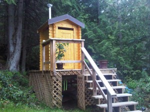 Outhouse westpeak-wood